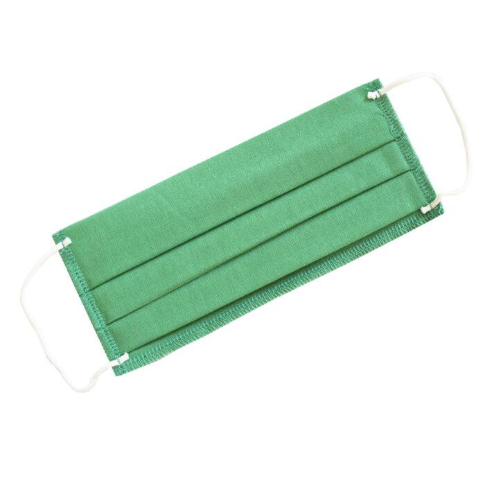 მრავალჯერადი სერტიფიცირებული პირბადე მწვანე